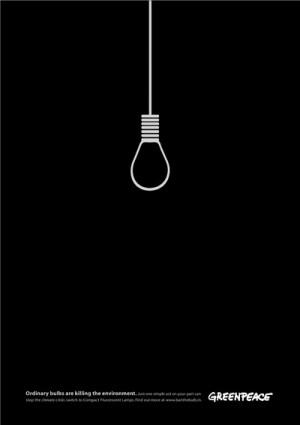 ¿Qué ocurrirá si seguimos utilizando bombillas convenciones?