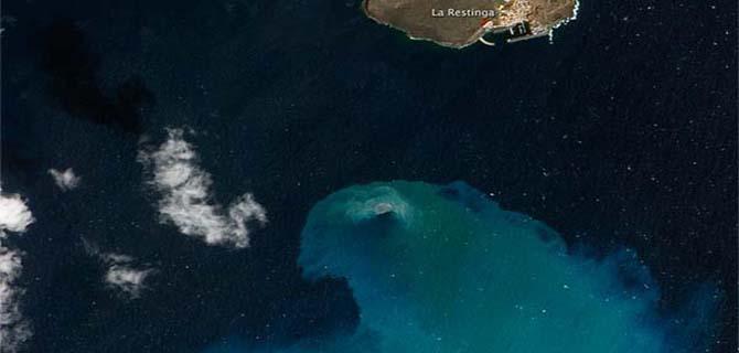 Premio de la NASA 2012 al volcán submarino de El Hierro