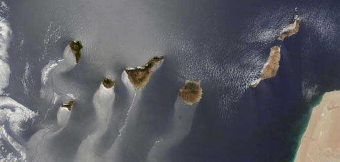 Premio de la NASA 2014, las Islas Canarias gustan