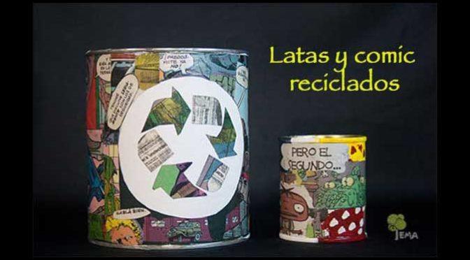 DIY: Cómo reciclar latas con mensaje