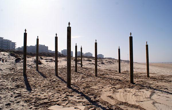 Cambio climático playa