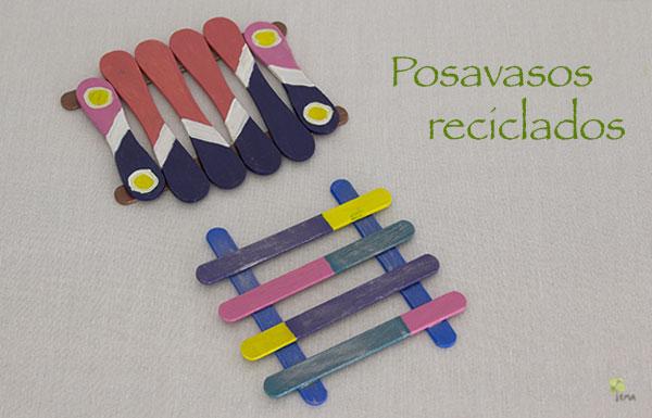 DIY: Posavasos reciclados