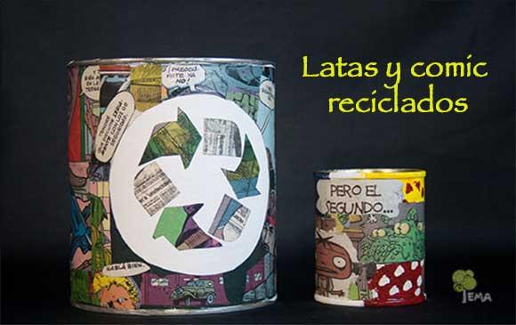 Latas-recicladas